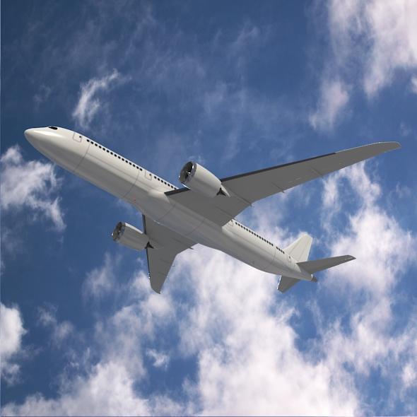 Boeing 787-9 dreamliner ( 224.37KB jpg by futurex3d )