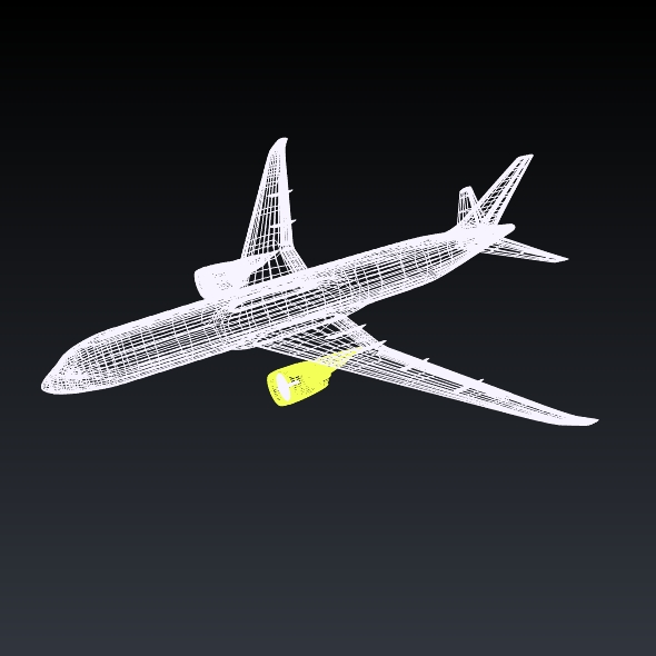 boeing 787-9 dreamliner 3d model 3ds fbx blend dae lwo obj 211660