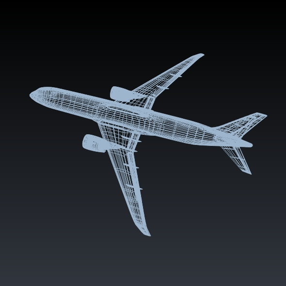 boeing 787-9 dreamliner 3d model 3ds fbx blend dae lwo obj 211661
