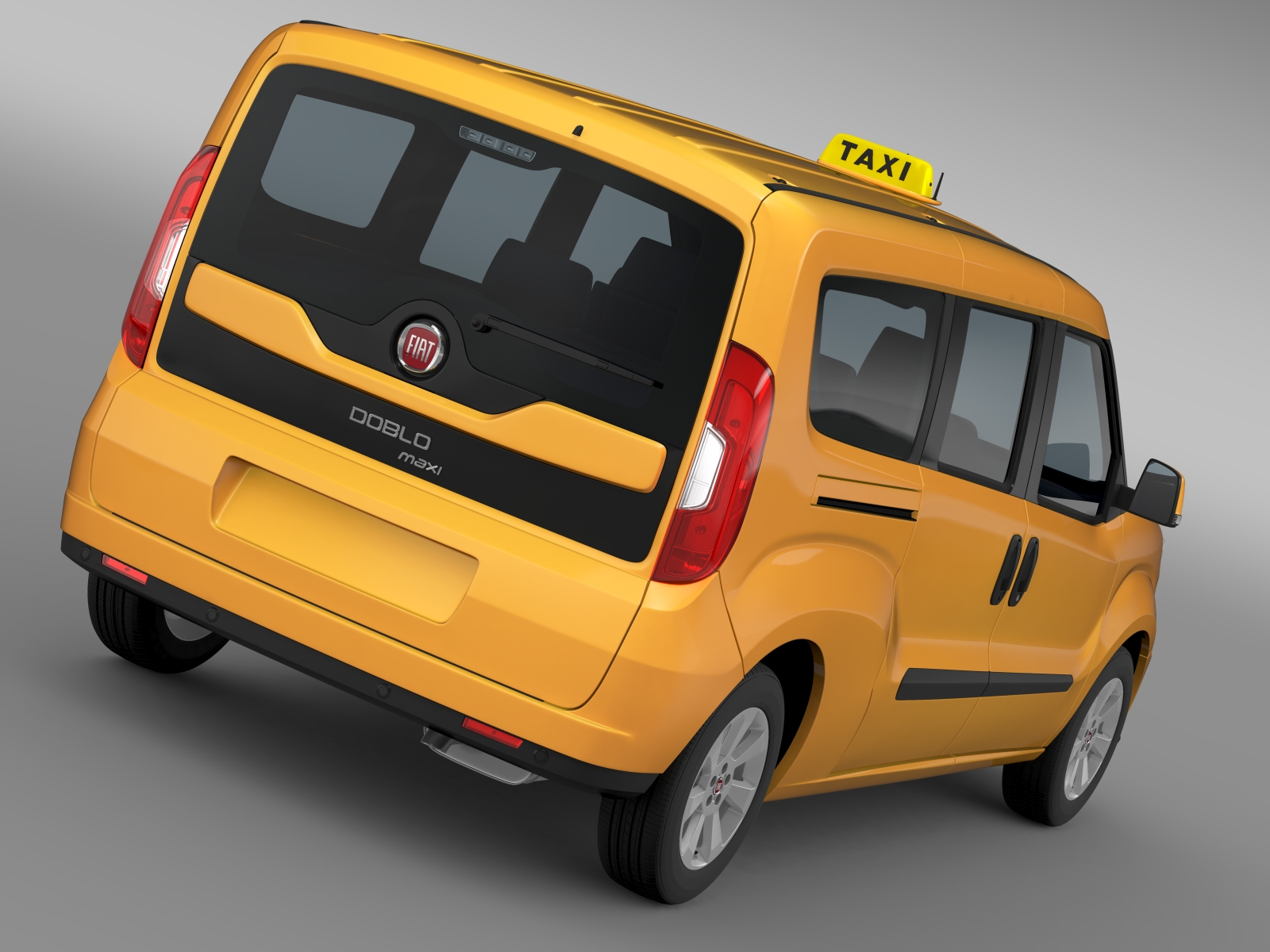 fiat doblo maxi taxi 152 2015 3d model buy fiat doblo maxi taxi 152 2015 3d model flatpyramid. Black Bedroom Furniture Sets. Home Design Ideas