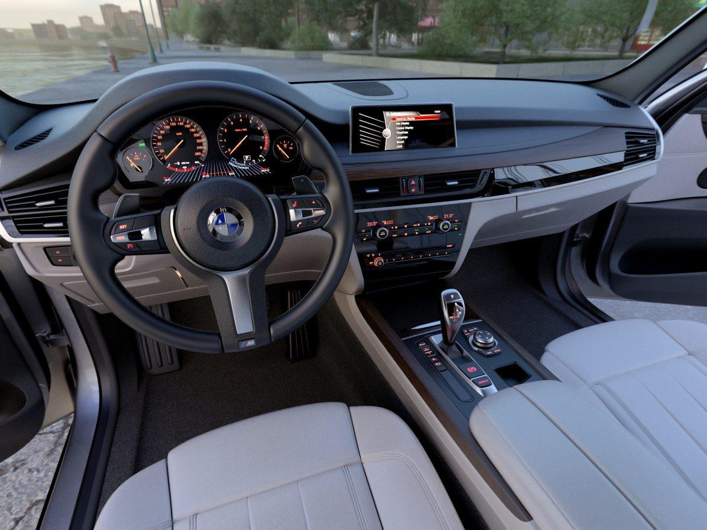 BMW X5 F15 2015 3d model 3ds max fbx c4d obj