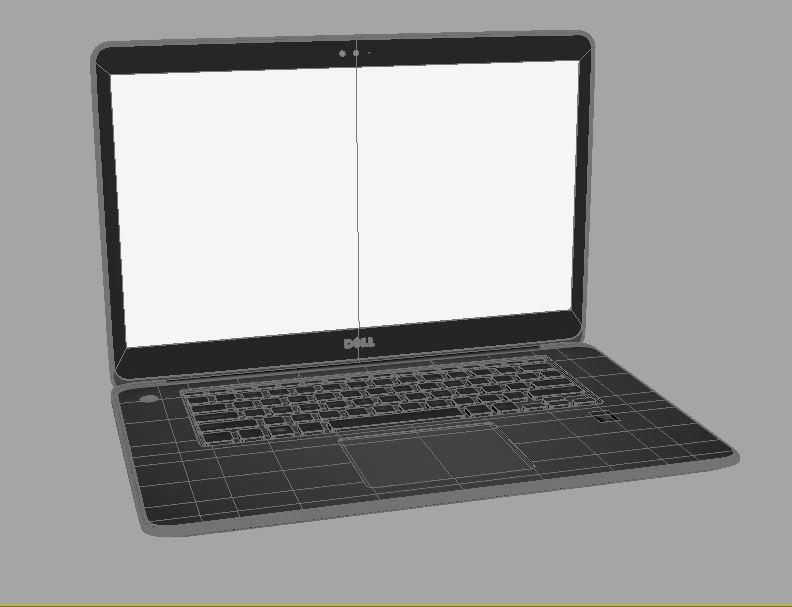 dell xps 15 3d model max 211710