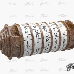 Cryptex Rusty 3d model 0