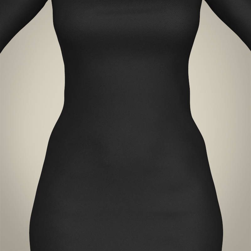 realistic islamic woman 3d model 3ds max fbx c4d lwo ma mb texture obj 211757