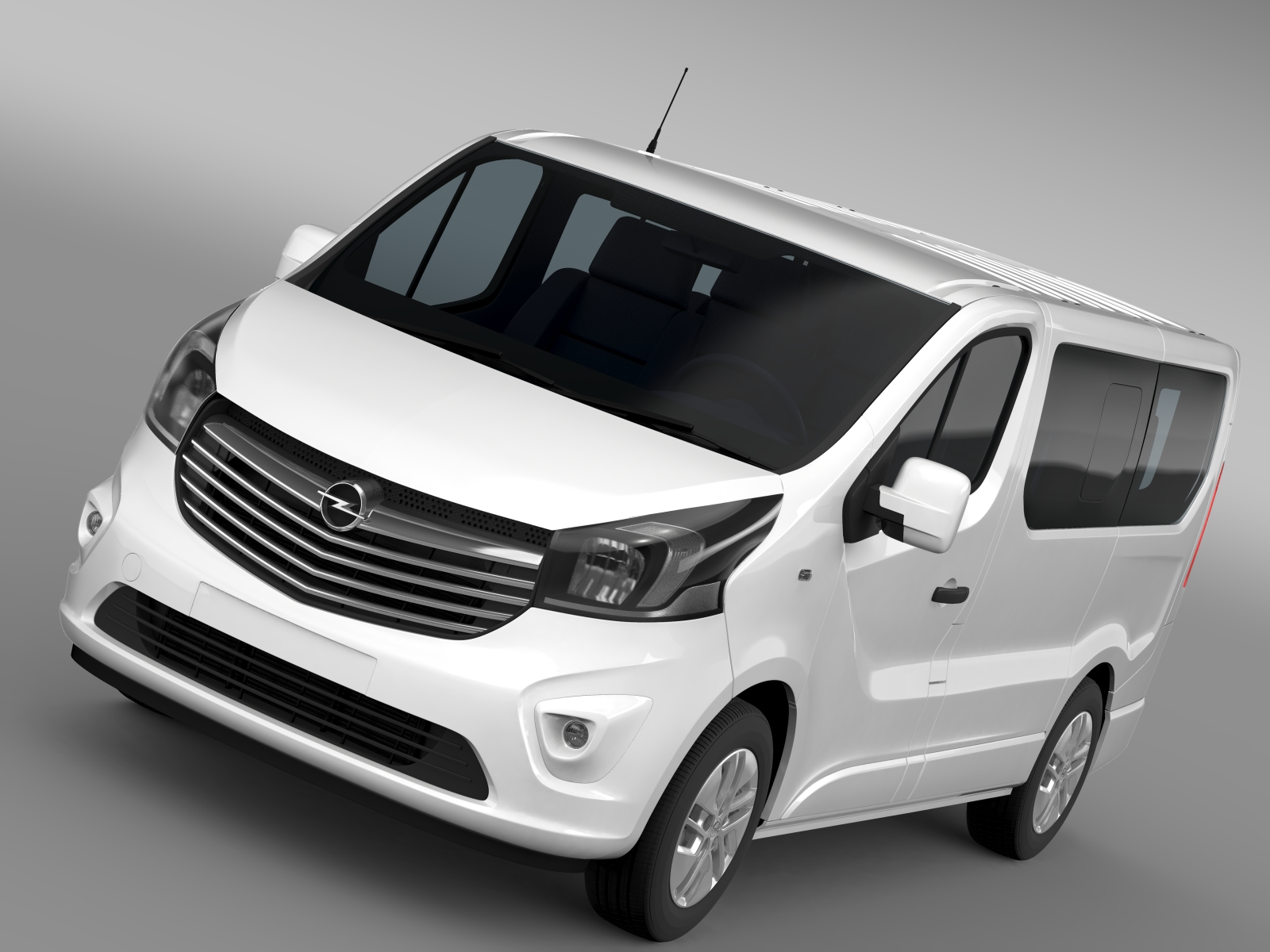opel vivaro biturbo 2015 3d model buy opel vivaro biturbo 2015 3d model flatpyramid. Black Bedroom Furniture Sets. Home Design Ideas