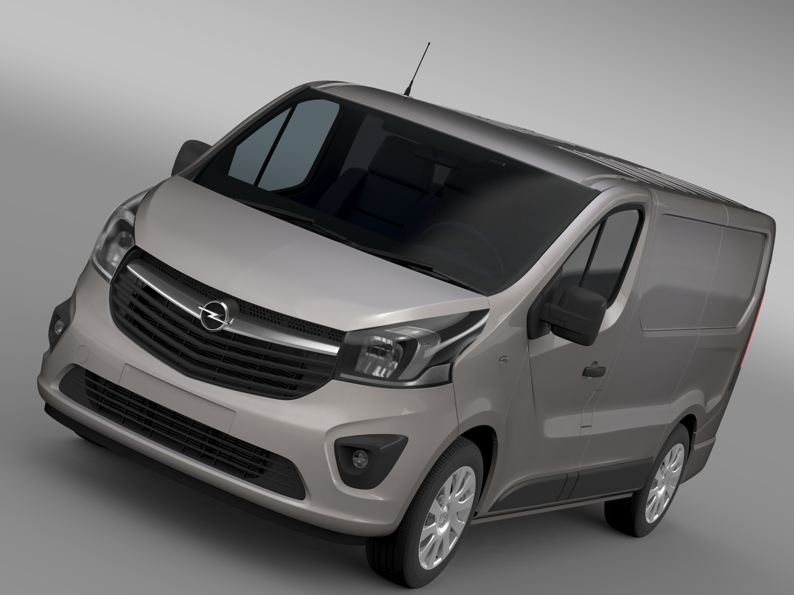opel vivaro van 2015 3d model buy opel vivaro van 2015 3d model flatpyramid. Black Bedroom Furniture Sets. Home Design Ideas