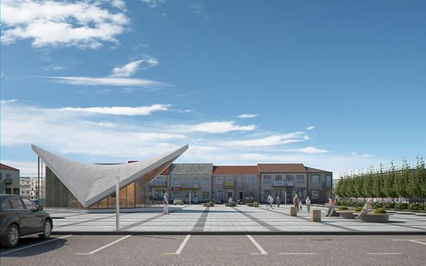 Expo Pavilion at City Plaza (Render Ready) ( 151.9KB jpg by 5starsModels )