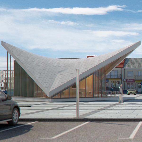 ekspozīcijas paviljons pilsētas laukumā (gatavs) 3d modelis max fbx c4d jpeg jpg tekstūra obj 212061