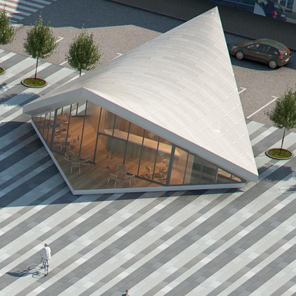 ekspozīcijas paviljons pilsētas laukumā (gatavs) 3d modelis max fbx c4d jpeg jpg tekstūra obj 212063