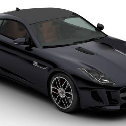 Jaguar F Type R Coupe 2015 3d model 0