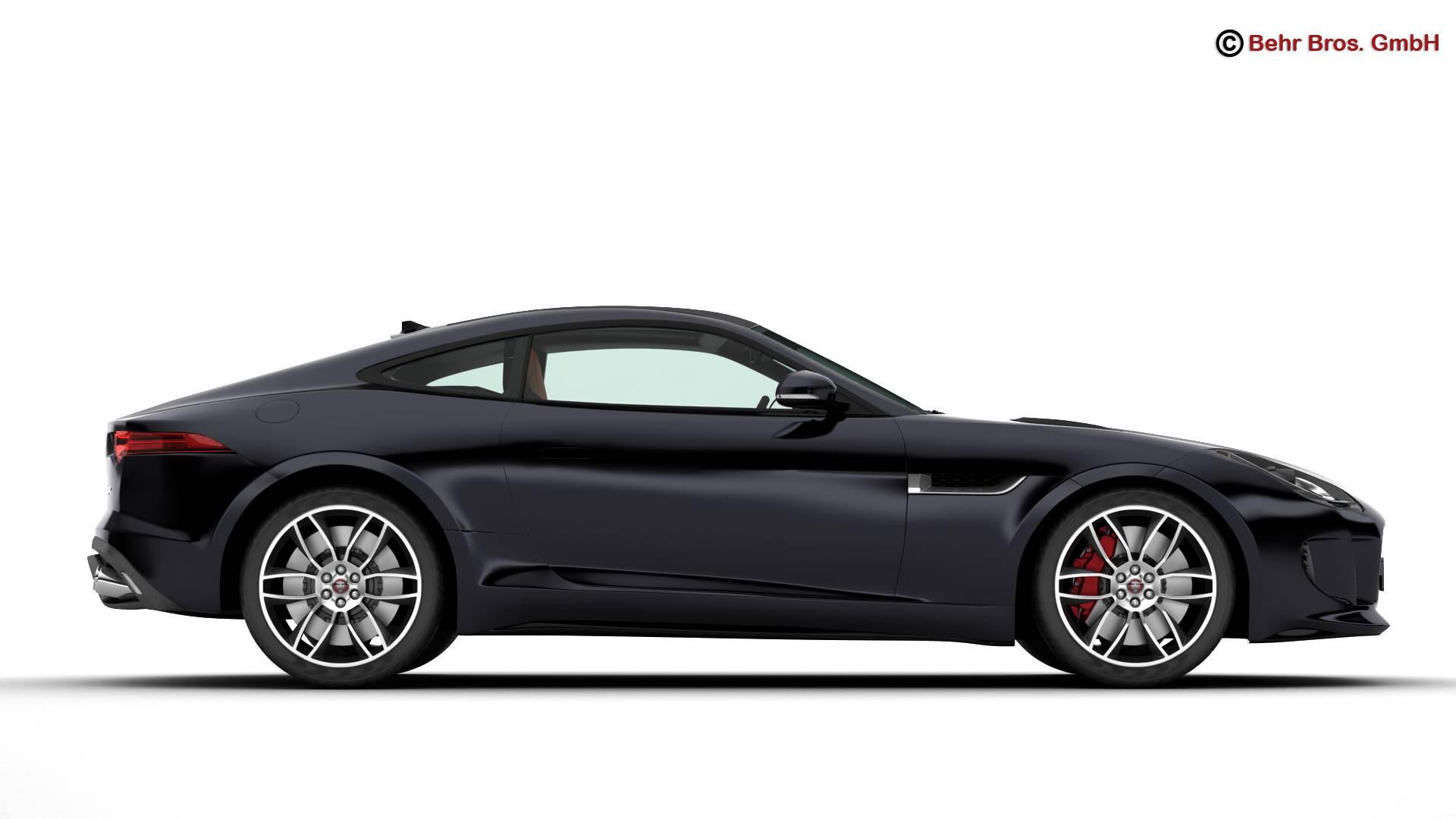 jaguar f type r coupe 2015 3d model 3ds max fbx c4d lwo ma mb obj 212071
