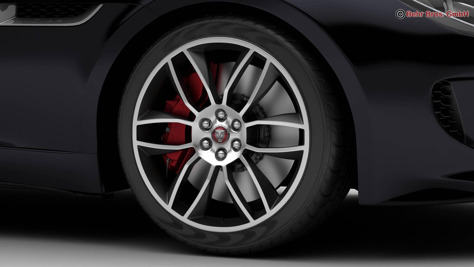jaguar f type r coupe 2015 3d model 3ds max fbx c4d lwo ma mb obj 212074