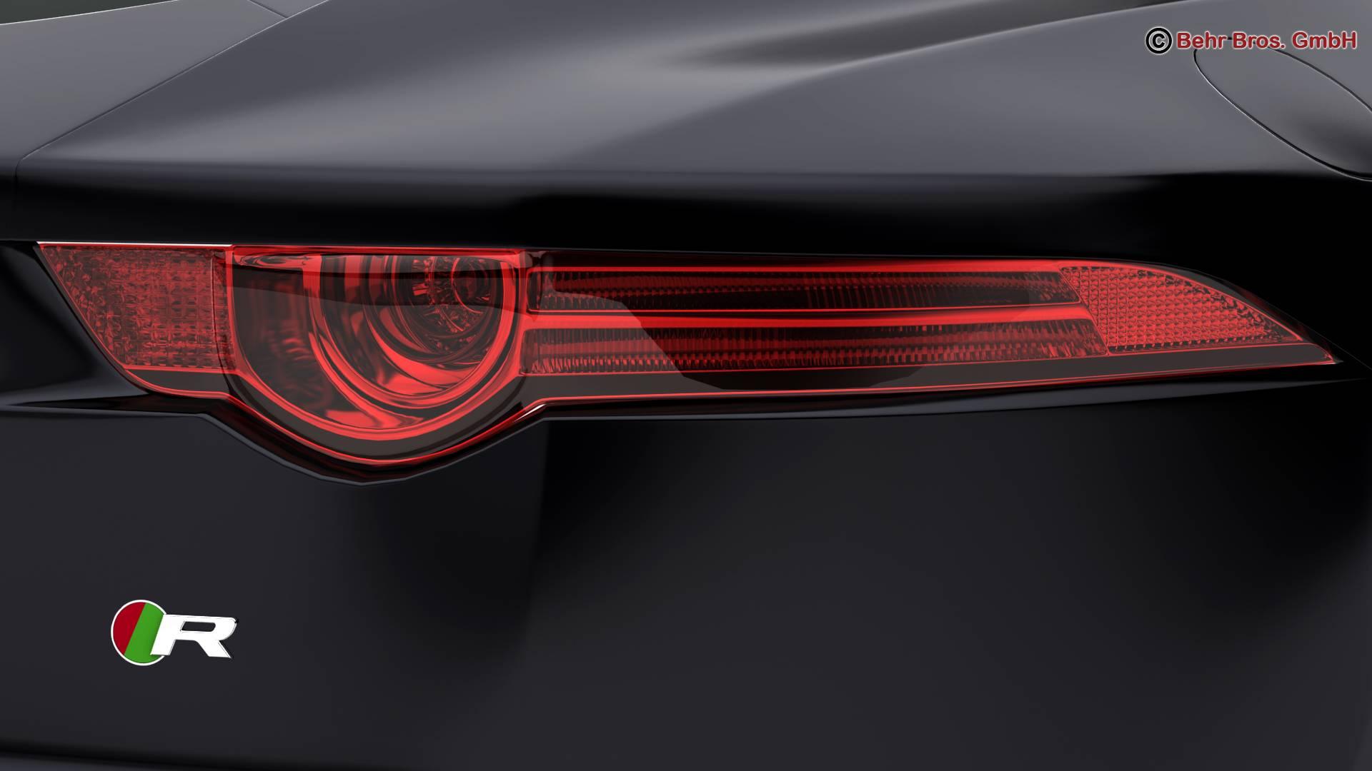 jaguar f type r coupe 2015 3d model 3ds max fbx c4d lwo ma mb obj 212076