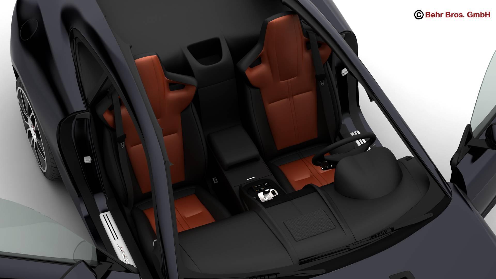 jaguar f type r coupe 2015 3d model 3ds max fbx c4d lwo ma mb obj 212077