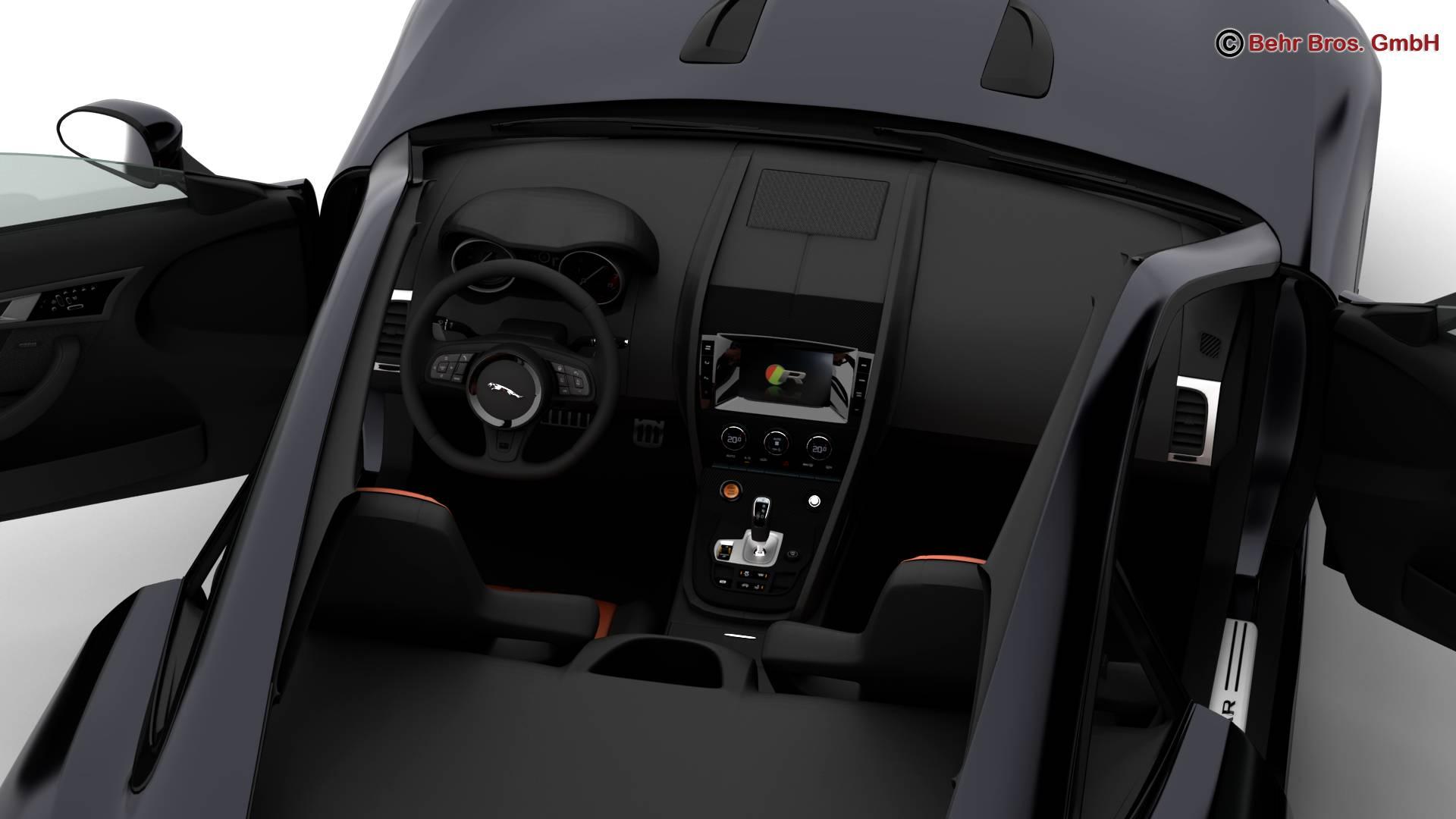 jaguar f type r coupe 2015 3d model 3ds max fbx c4d lwo ma mb obj 212078