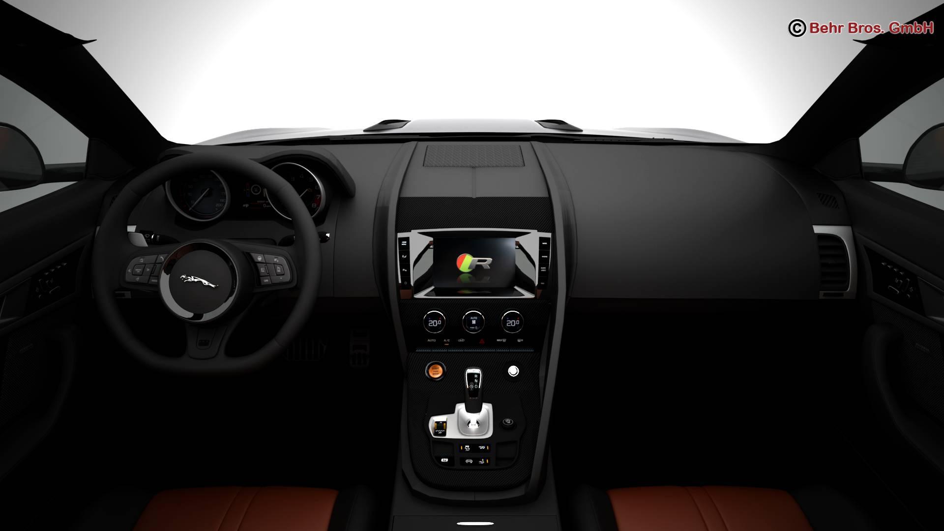 jaguar f type r coupe 2015 3d model 3ds max fbx c4d lwo ma mb obj 212079