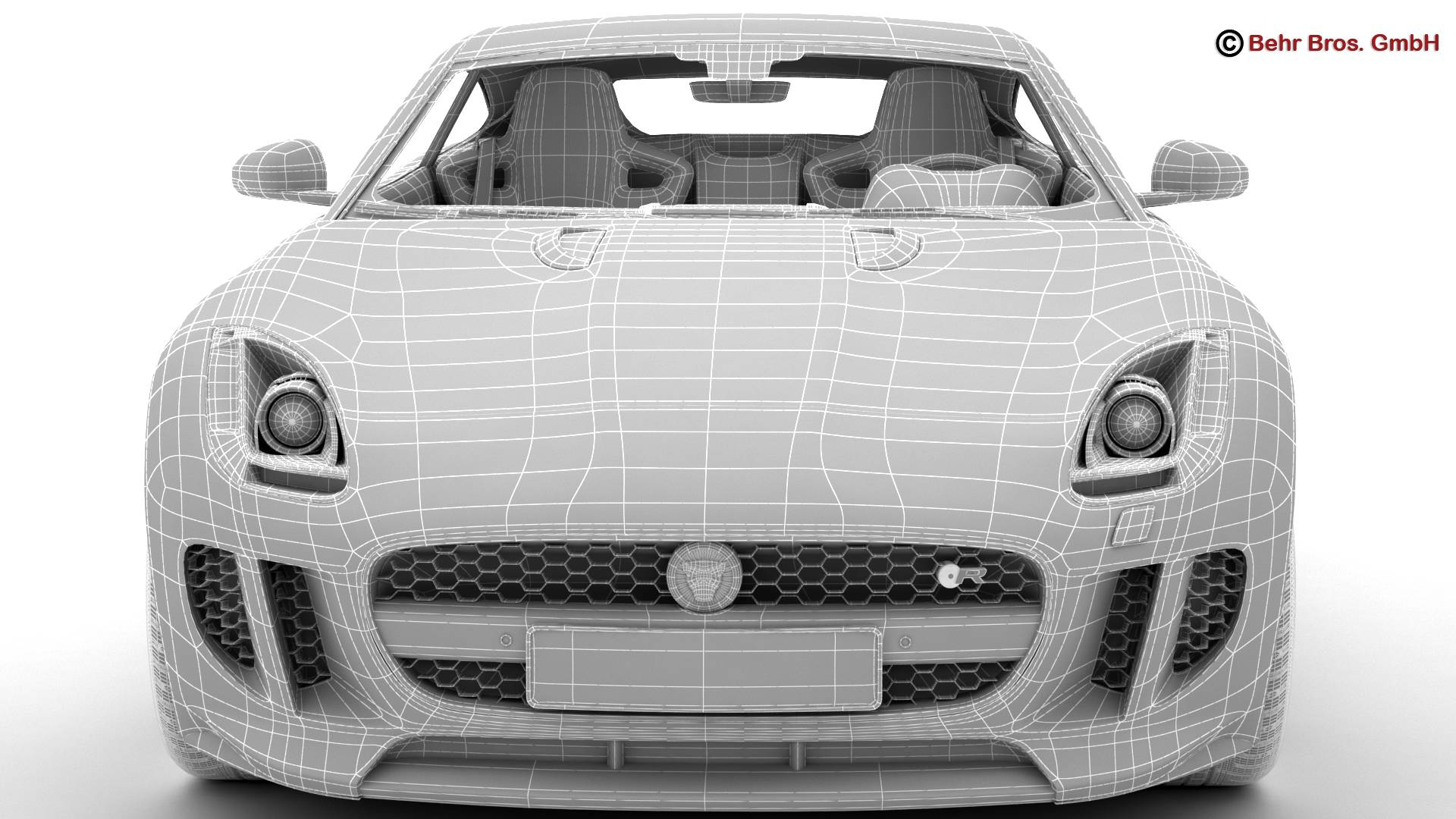 jaguar f type r coupe 2015 3d model 3ds max fbx c4d lwo ma mb obj 212086
