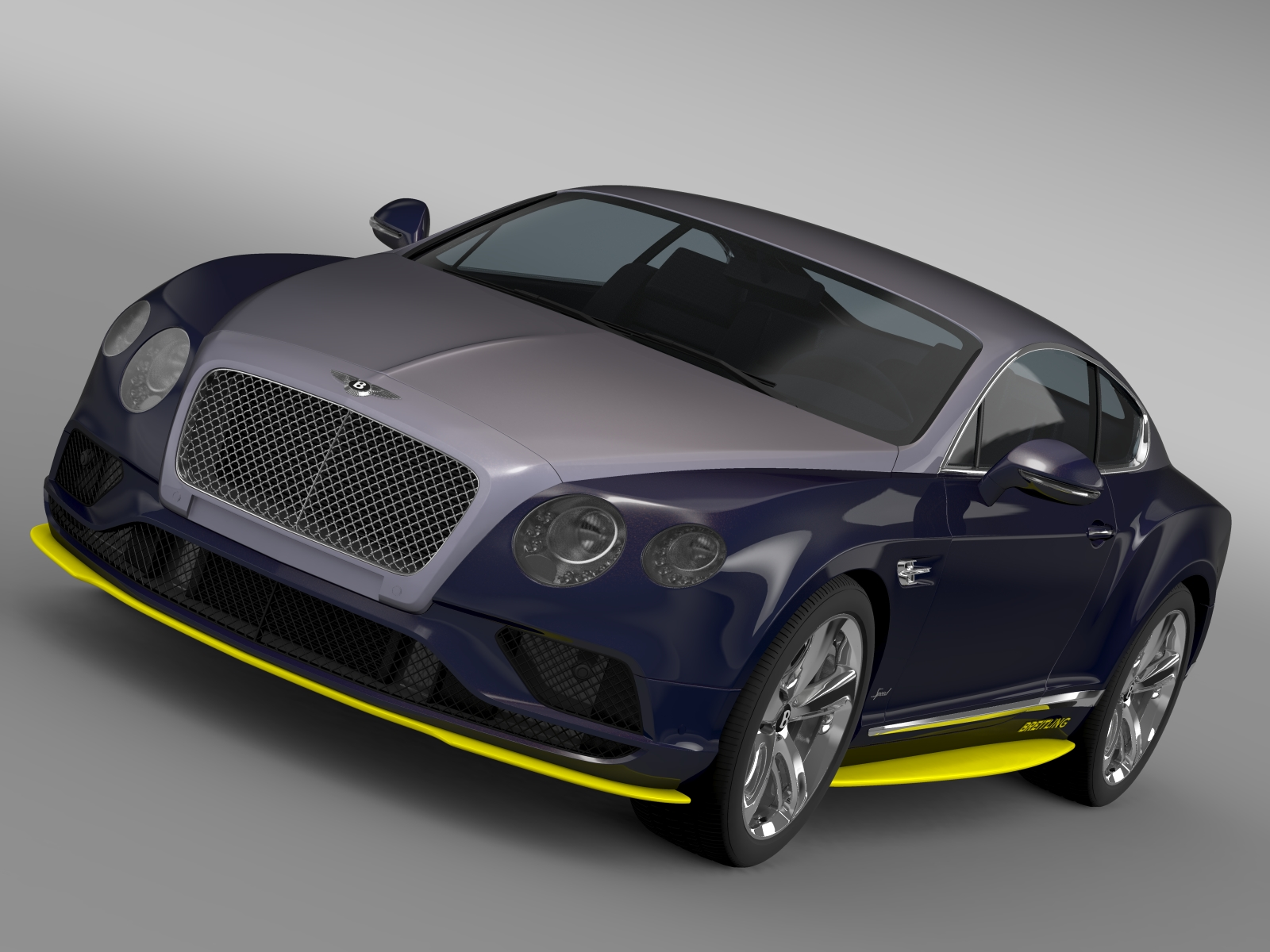 bentley continental gt speed breitling jet team se 3d model 3ds max fbx c4d lwo ma mb hrc xsi obj 212092