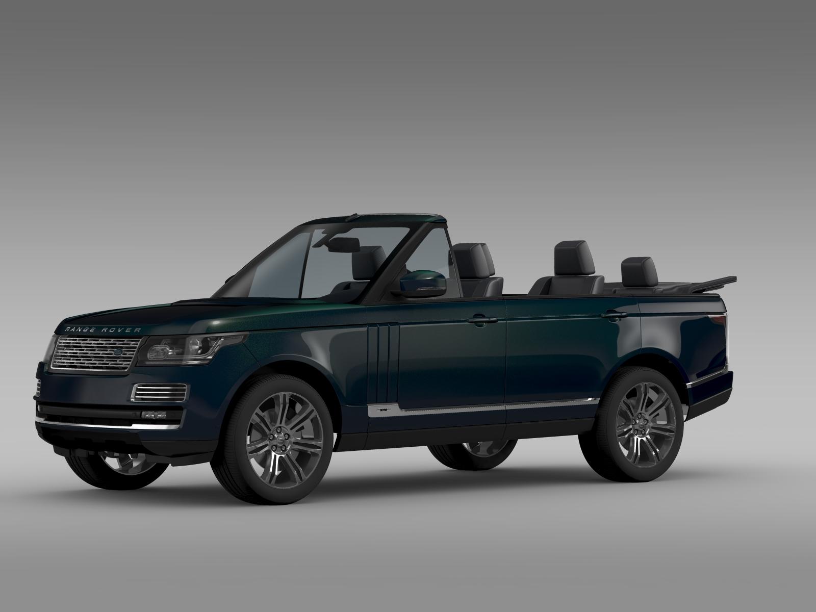 range rover autobiography black lwb cabrio l405 20 3d. Black Bedroom Furniture Sets. Home Design Ideas