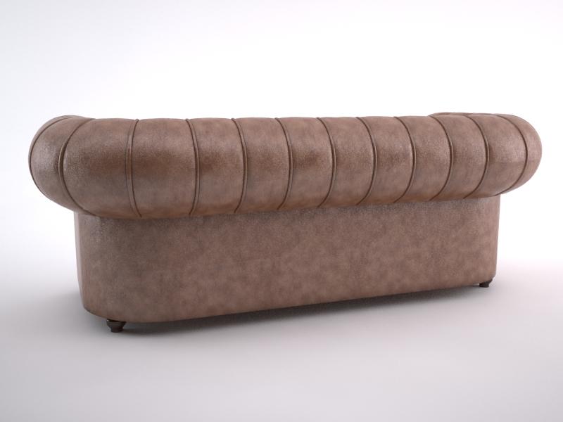 chesterfield sofa 3d model max jpeg jpg obj 212174