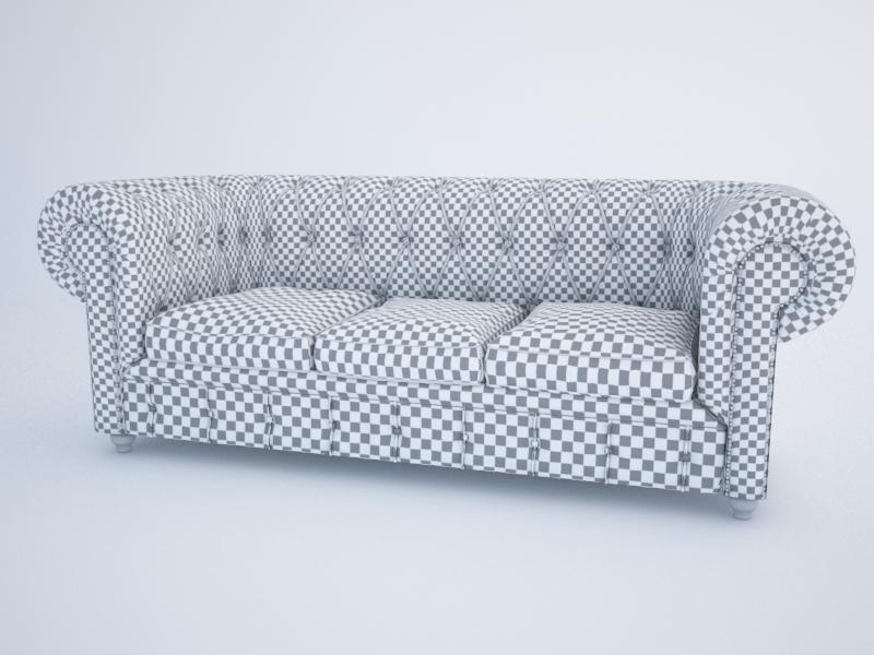 chesterfield dīvāns 3d modelis max jpeg jpg obj 212177