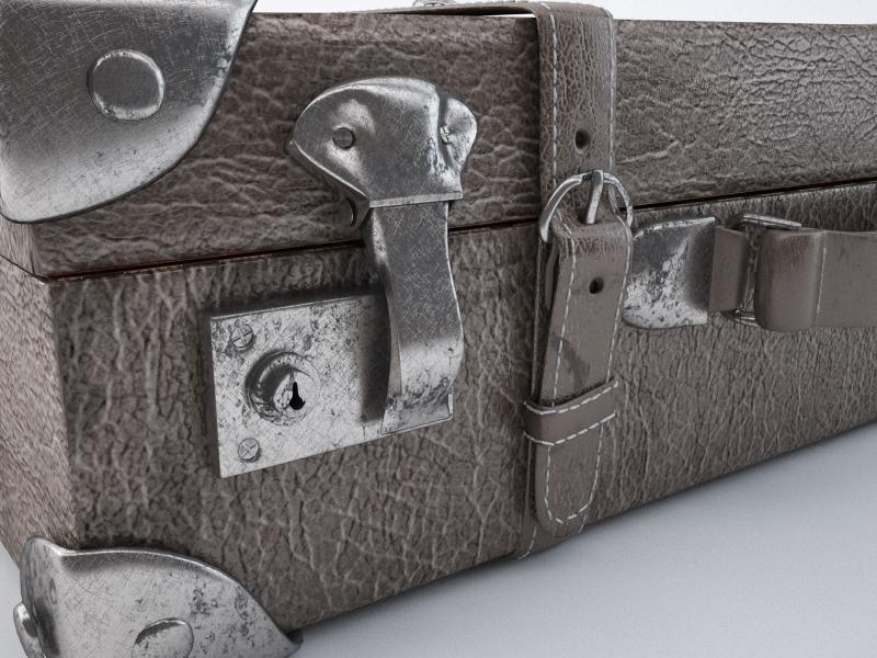 travel suitcase 3d model max jpeg jpg obj 212218