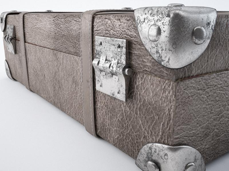 travel suitcase 3d model max jpeg jpg obj 212219