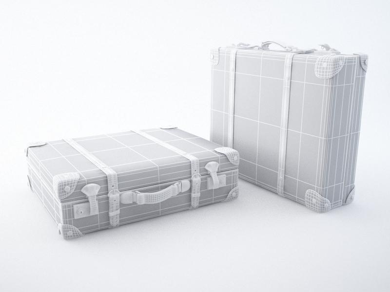 travel suitcase 3d model max jpeg jpg obj 212221