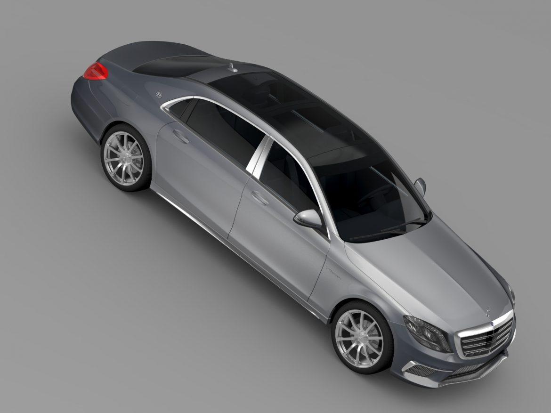 amg mercedes maybach x222 2015 3d model 3ds max fbx c4d lwo ma mb hrc xsi obj 212257