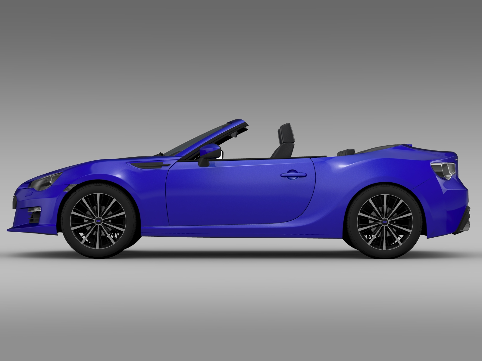 subaru brz zc6 cabrio 2015 3d model flatpyramid. Black Bedroom Furniture Sets. Home Design Ideas