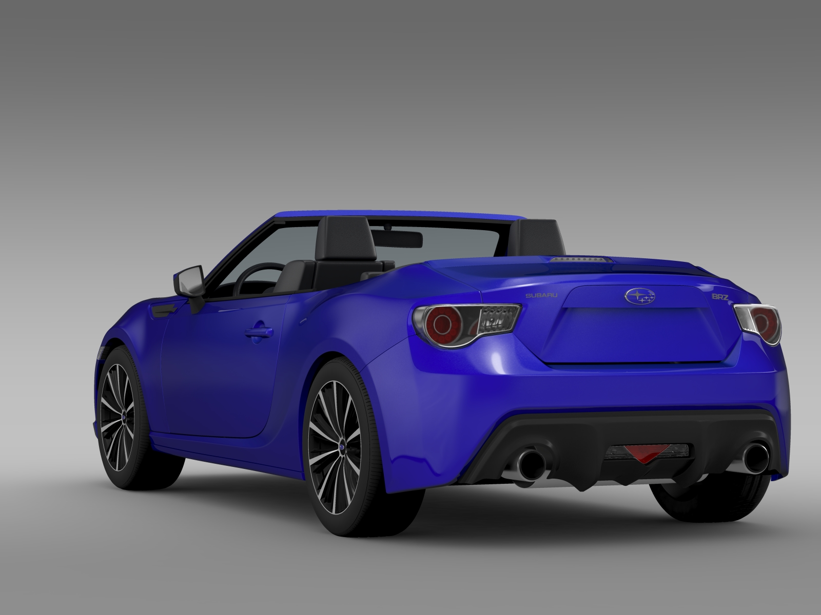 subaru brz zc6 cabrio 2015 3d model flatpyramid. Black Bedroom Furniture Sets. Home Design Ideas