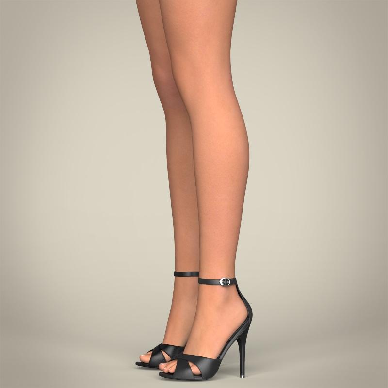 realistic beautiful pretty girl 3d model 3ds max fbx c4d lwo ma mb texture obj 212332