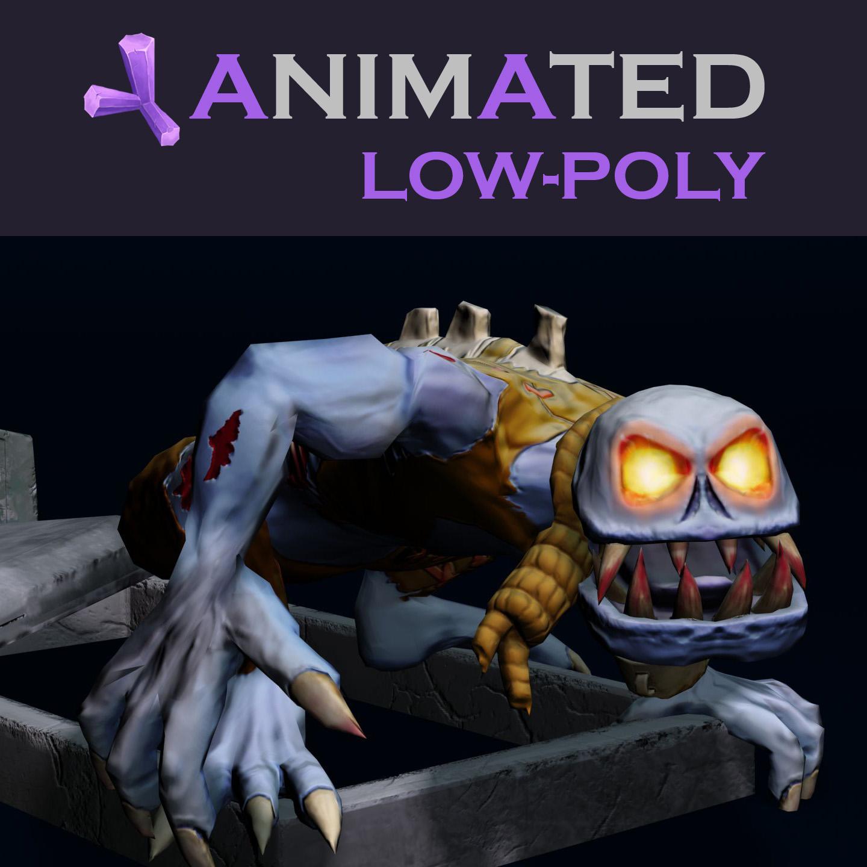 zombie (ghoul) 3d model max fbx obj 212441