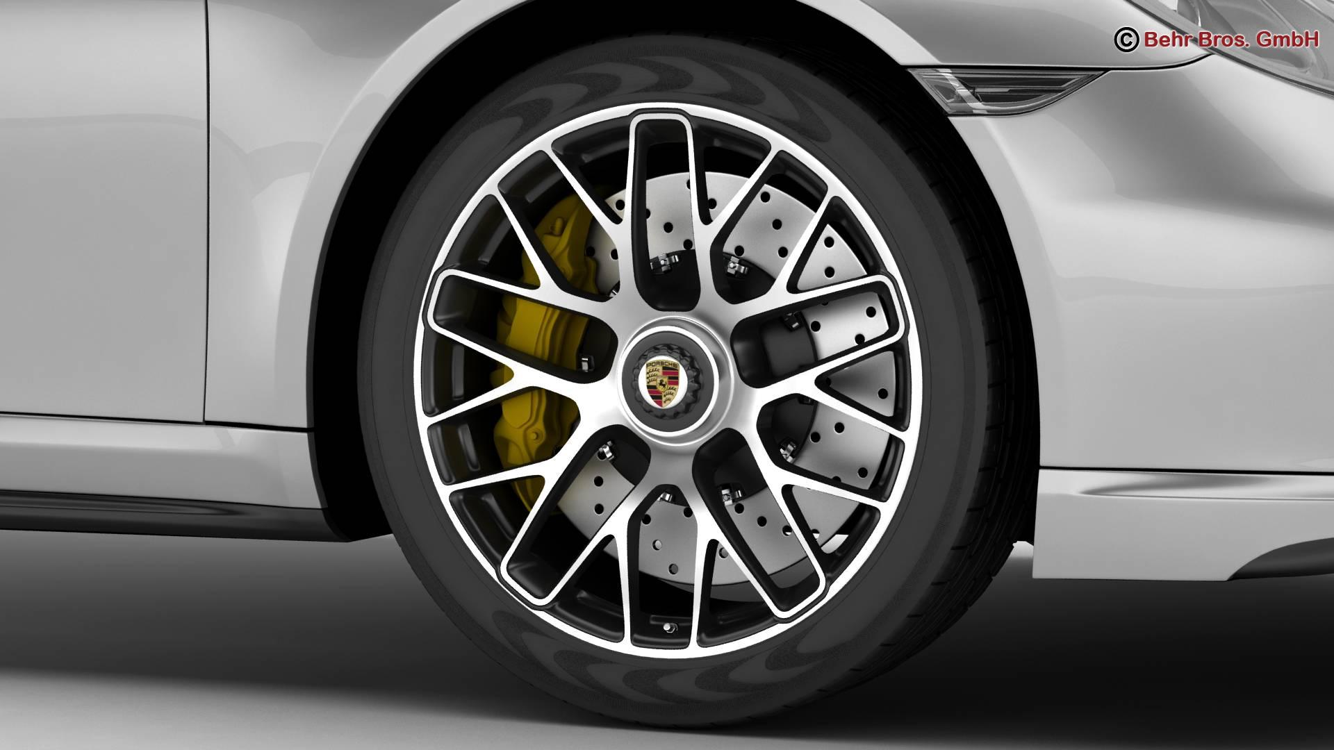 porsche 911 turbo s 2014 3d model 3ds max fbx c4d lwo ma mb obj 212484
