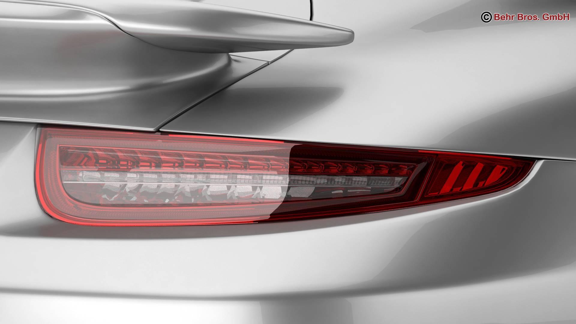 porsche 911 turbo s 2014 3d model 3ds max fbx c4d lwo ma mb obj 212486