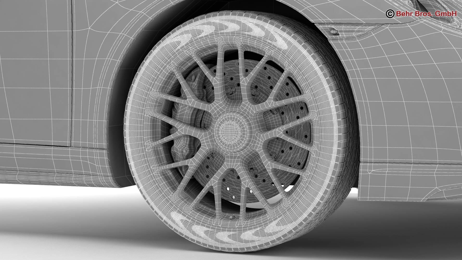 porsche 911 turbo s 2014 3d model 3ds max fbx c4d lwo ma mb obj 212498