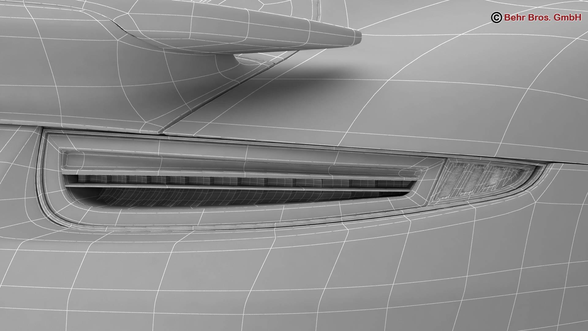 porsche 911 turbo s 2014 3d model 3ds max fbx c4d lwo ma mb obj 212500
