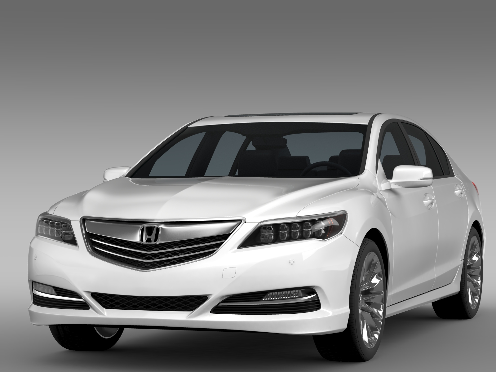 Honda Legend 2015 3d Model Buy Honda Legend 2015 3d