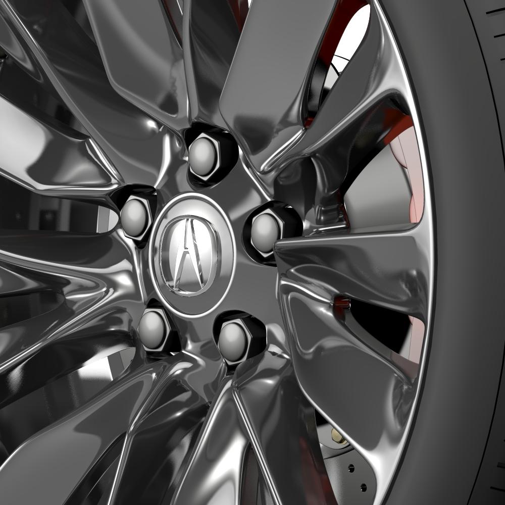 acura rlx wheel 3d model 3ds max fbx c4d lwo ma mb hrc xsi obj 212694