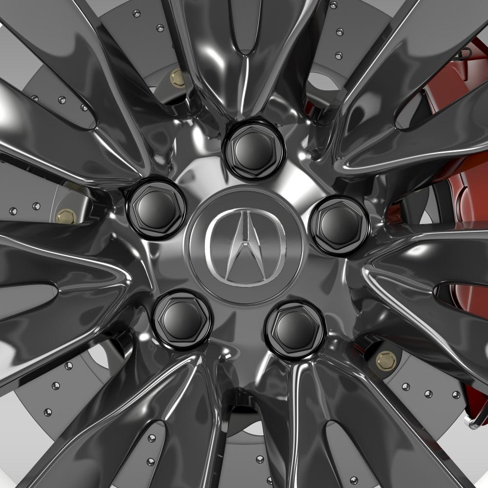 acura rlx wheel 3d model 3ds max fbx c4d lwo ma mb hrc xsi obj 212695