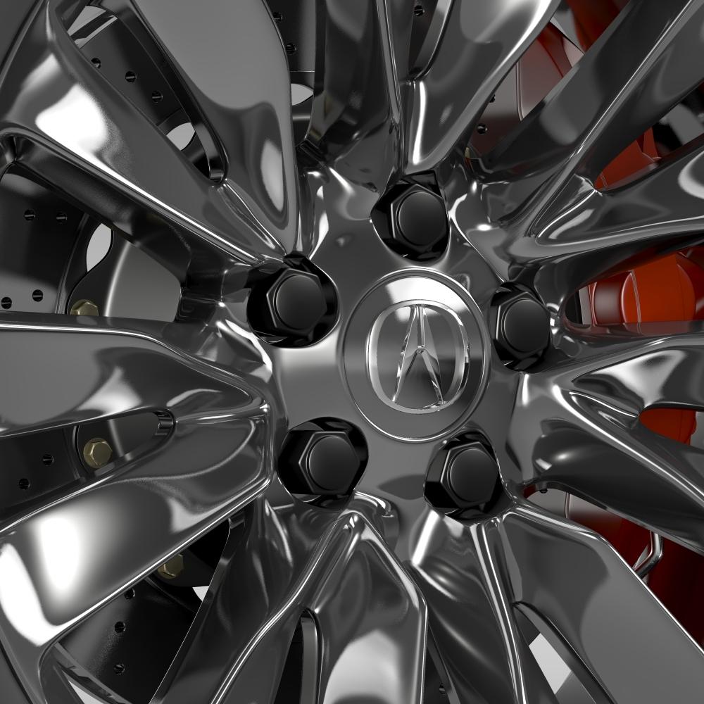 acura rlx wheel 3d model 3ds max fbx c4d lwo ma mb hrc xsi obj 212696