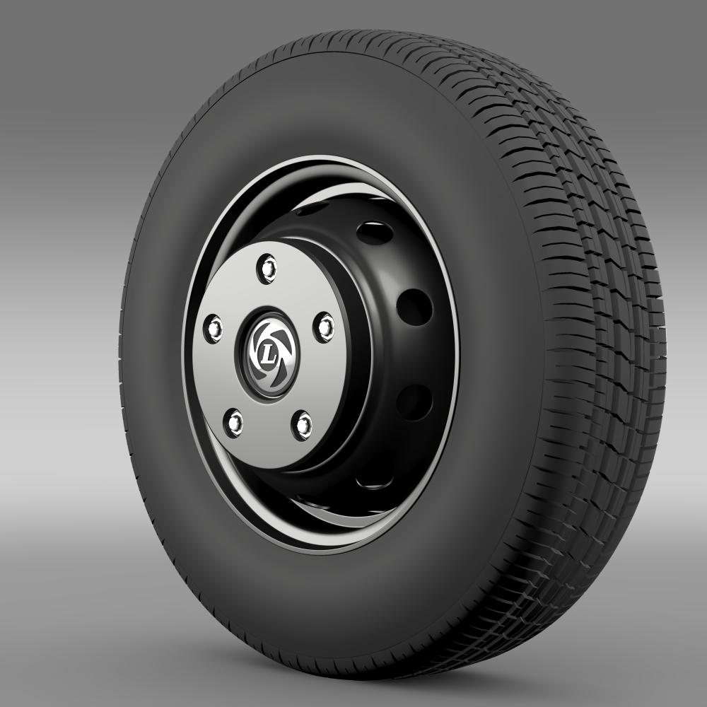 Ashok Leyland wheel 3d model 3ds max fbx c4d lwo lws lw ma mb  obj 212702