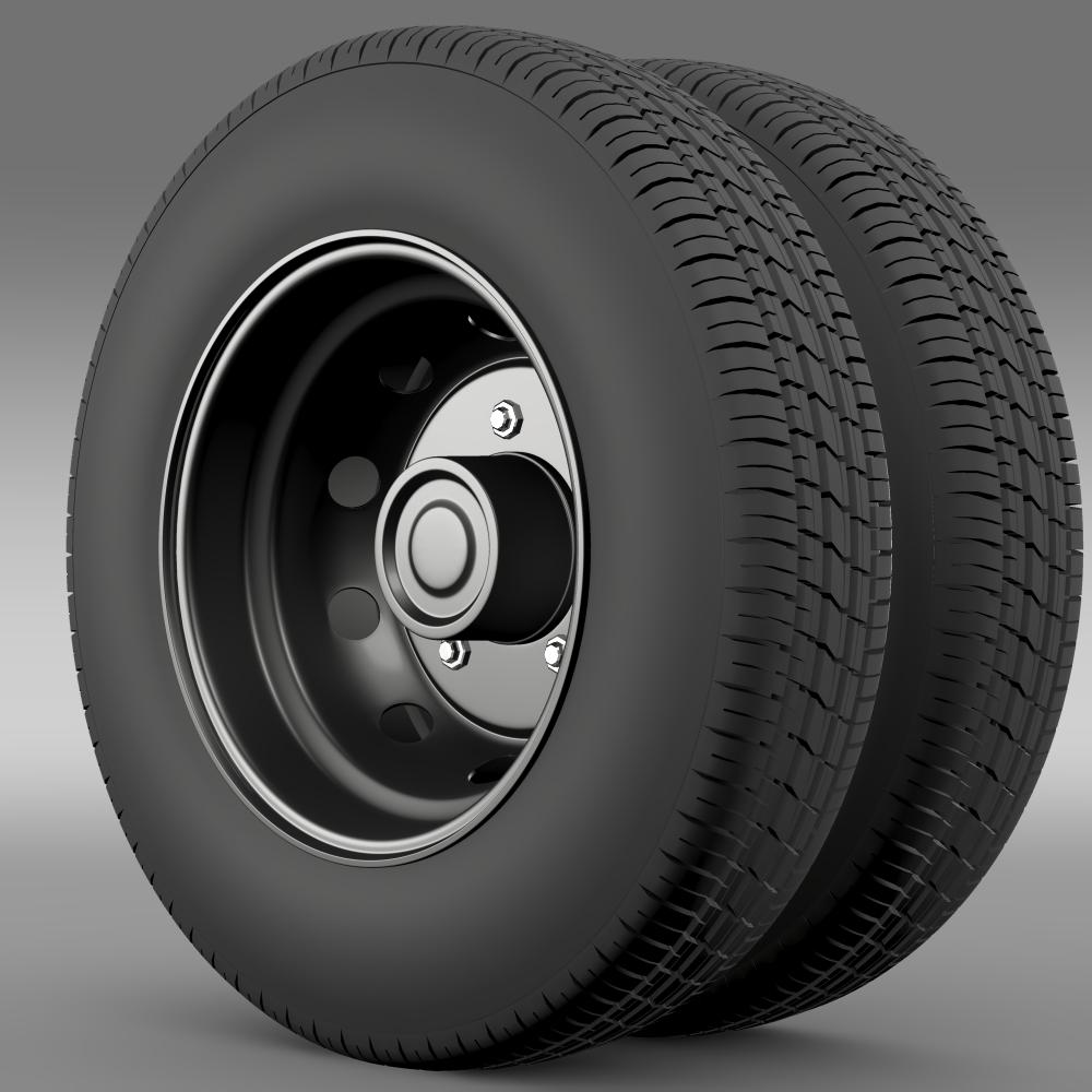 Ashok Leyland wheel2 3d model 3ds max fbx c4d lwo lws lw ma mb  obj 212713