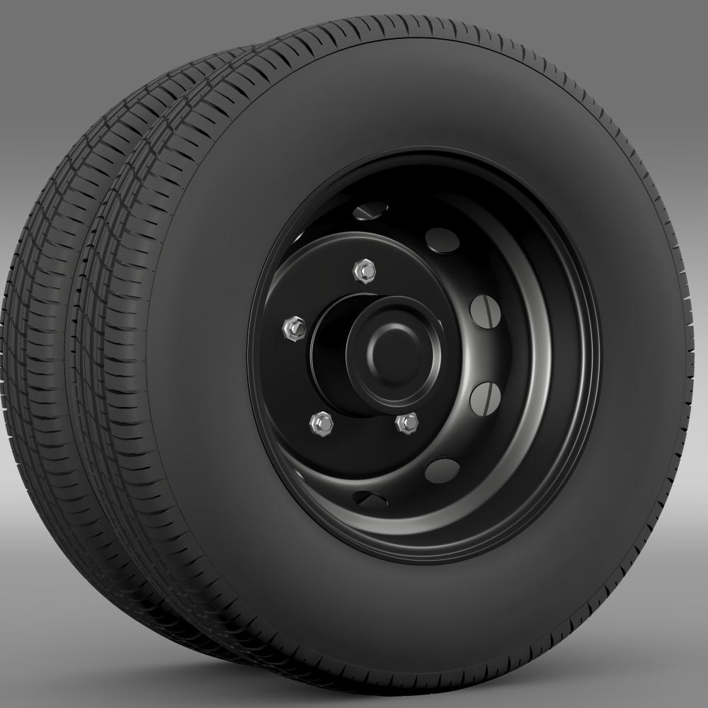 ashok leyland wheel2 3d model 3ds max fbx c4d lwo ma mb hrc xsi obj 212715