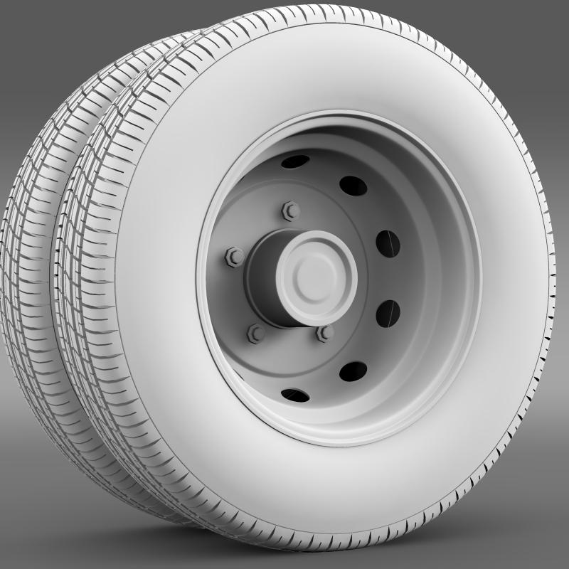 ashok leyland wheel2 3d model 3ds max fbx c4d lwo ma mb hrc xsi obj 212719