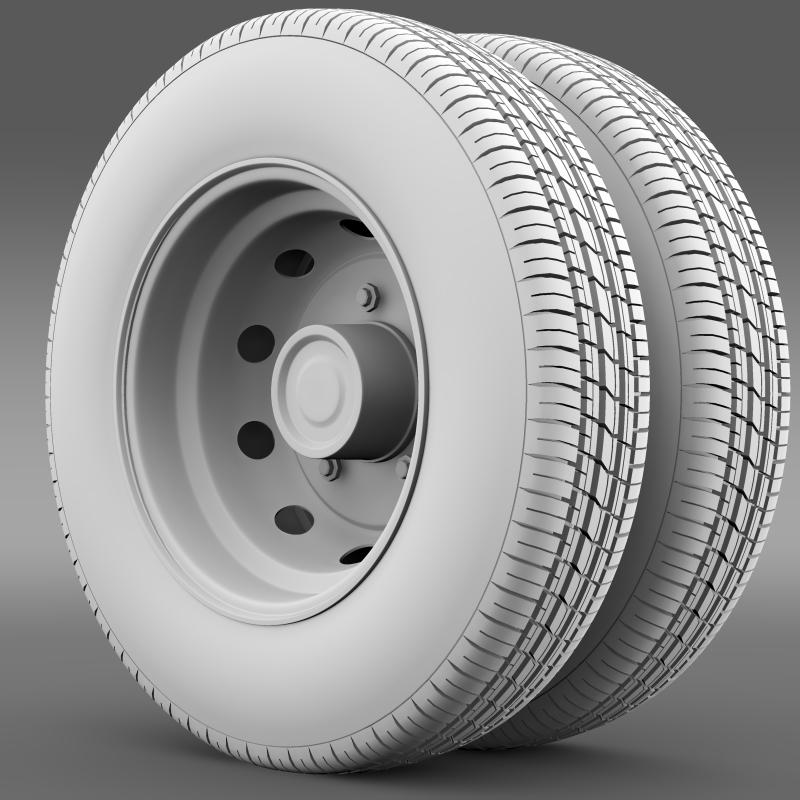 ashok leyland wheel2 3d model 3ds max fbx c4d lwo ma mb hrc xsi obj 212721