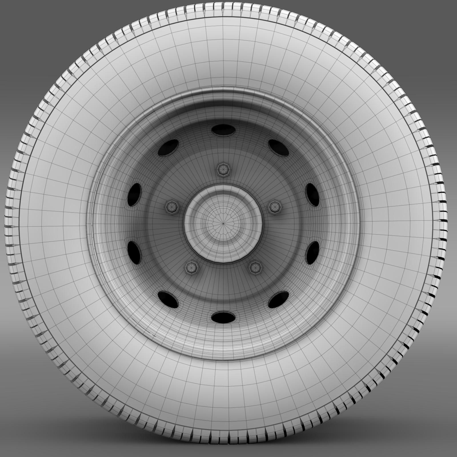 ashok leyland wheel2 3d model 3ds max fbx c4d lwo ma mb hrc xsi obj 212722
