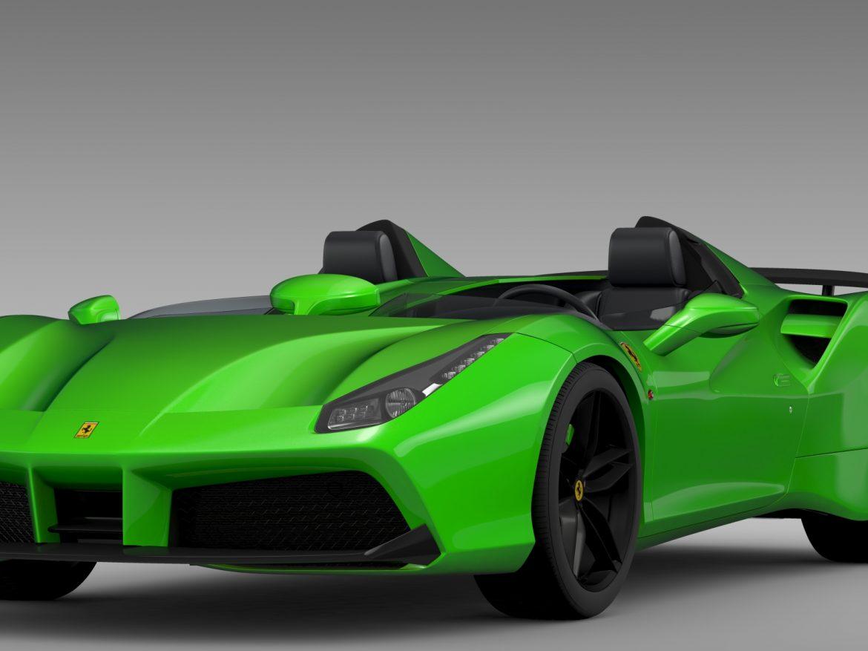 ferrari 488 speedster 2016 3d model 3ds max fbx c4d lwo ma mb hrc xsi obj 212727