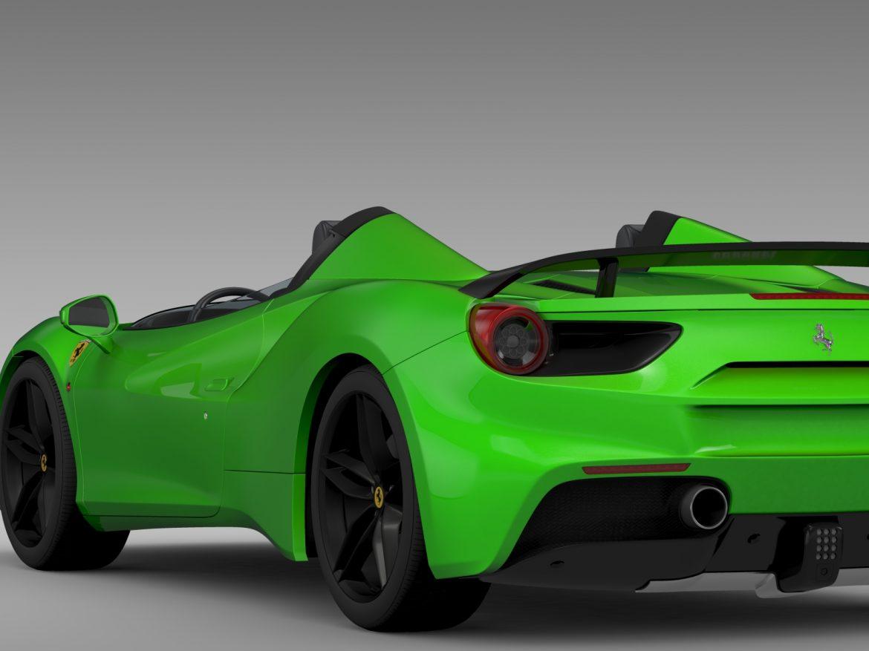 ferrari 488 speedster 2016 3d model 3ds max fbx c4d lwo ma mb hrc xsi obj 212731