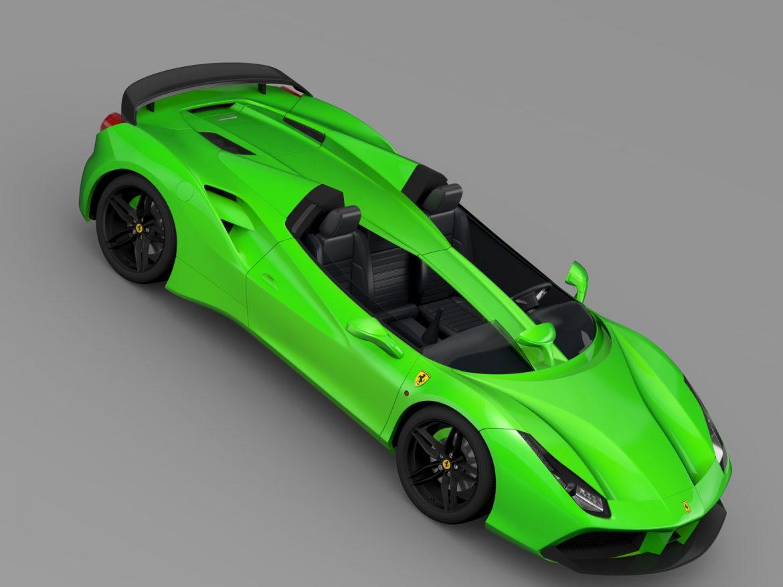 ferrari 488 speedster 2016 3d model 3ds max fbx c4d lwo ma mb hrc xsi obj 212735